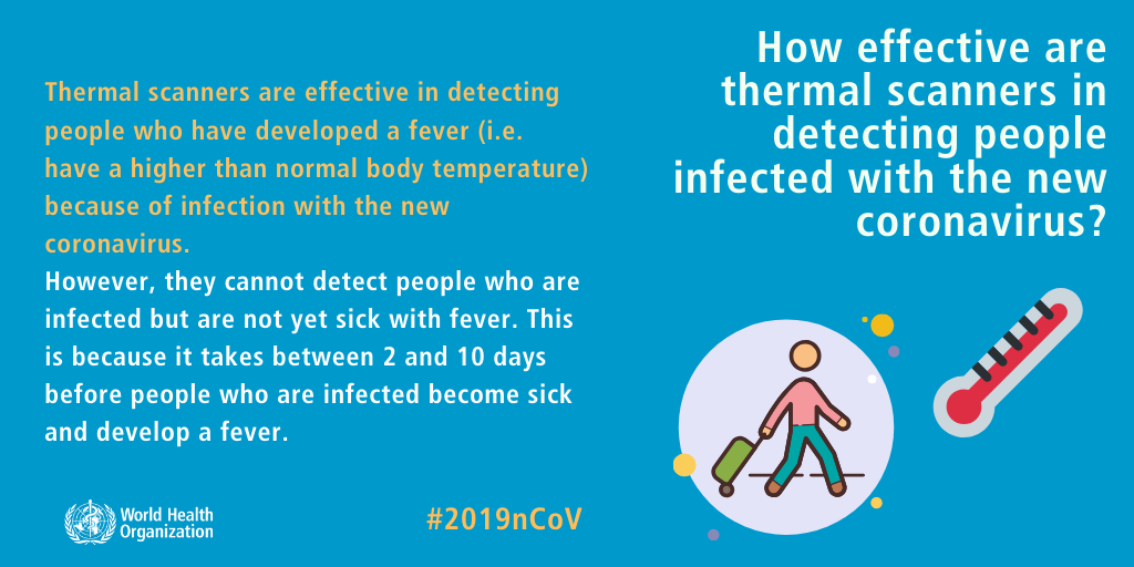 How effective are thermal scanners in detecting people infected with the new coronavirus? Coronavirus Outbreak