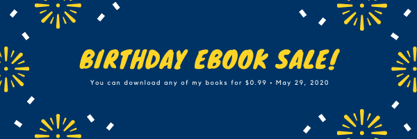 Birthday eBook Sale!