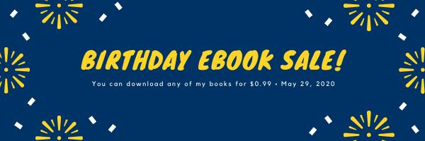 Birthday eBook Sale!