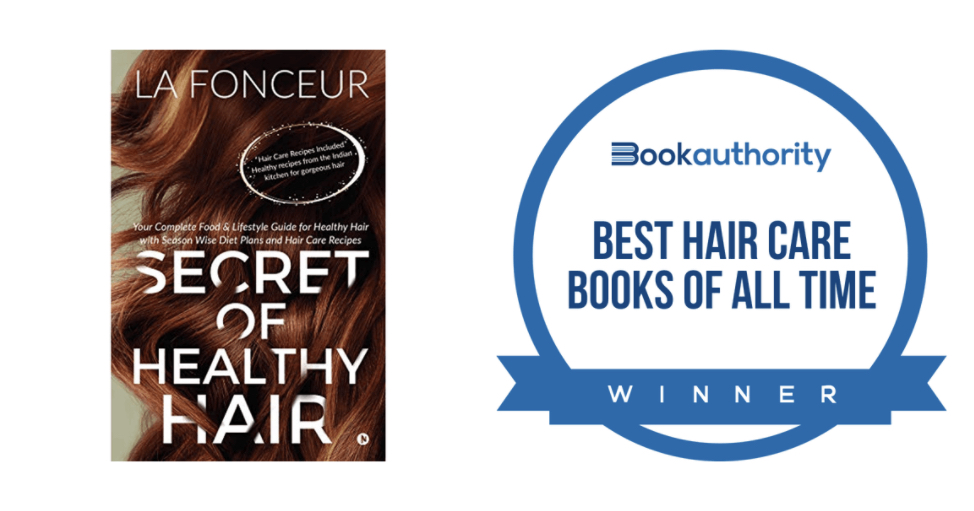 Secret of Healthy Hair made it to the Best Hair Care Books of All Time